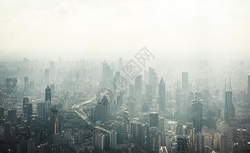 俯瞰上海图片