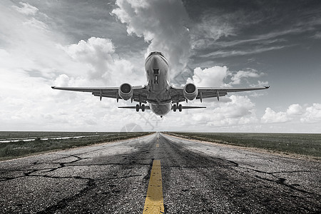 物流航空运输图片