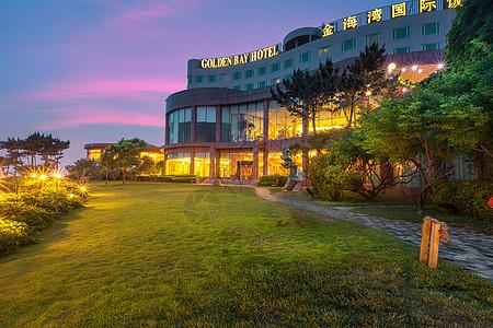 漂亮的海滨酒店图片