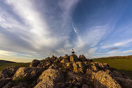 山顶风光图片