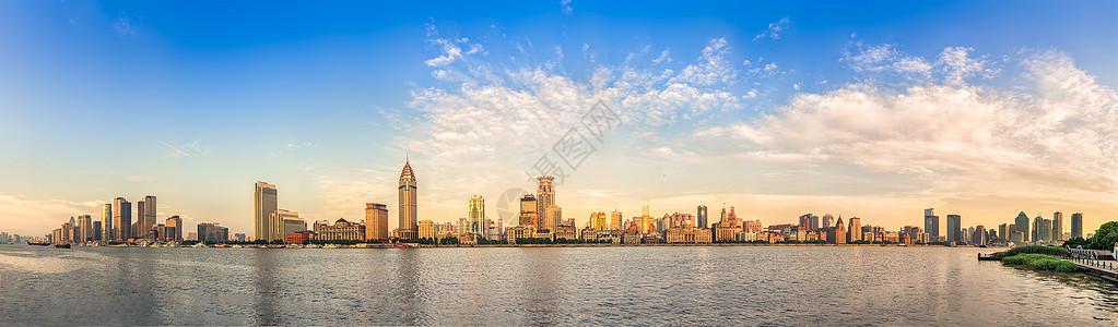 上海浦西风光全景图图片