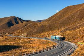 新西兰国道风光图片