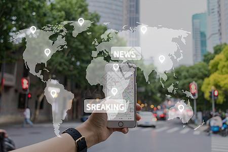 手机定位导航图片