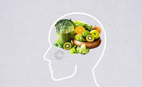 健康果蔬生活方式图片
