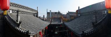 平遥古城的风光图片