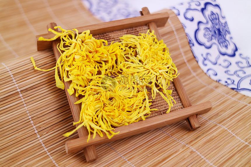 纯天然黄山金丝皇菊图片