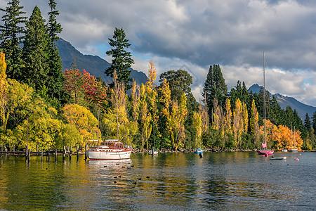 新西兰皇后镇风光图片