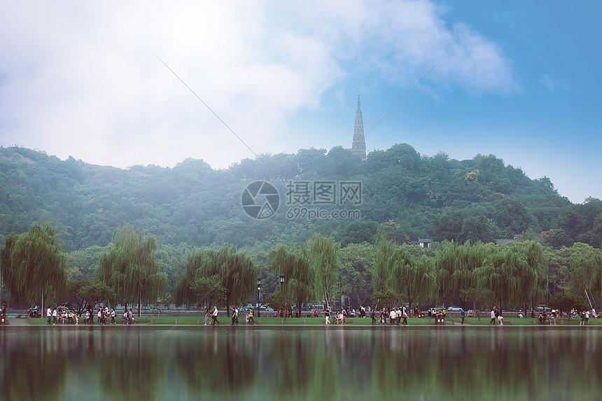 杭州西湖一景图片
