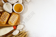 面包和食材图片