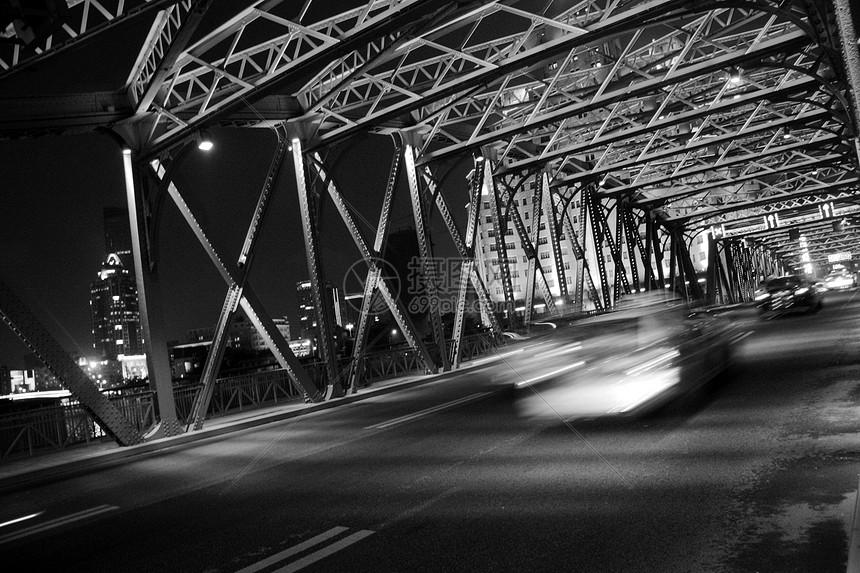 上海外白渡桥夜景图片