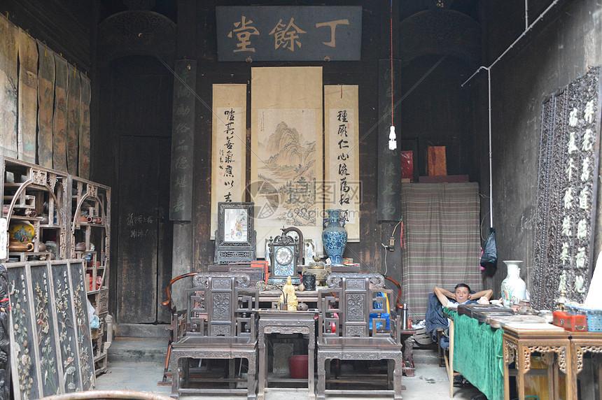 江西婺源李村旅游时图片