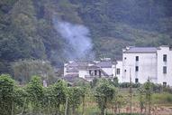 江西婺源理村过中秋后的宁静图片