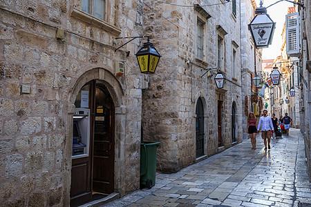 欧洲旅游古城建筑风光图片