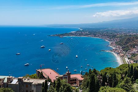 意大利海岸线风景图片
