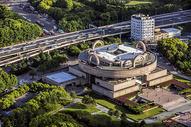 俯瞰上海博物馆图片