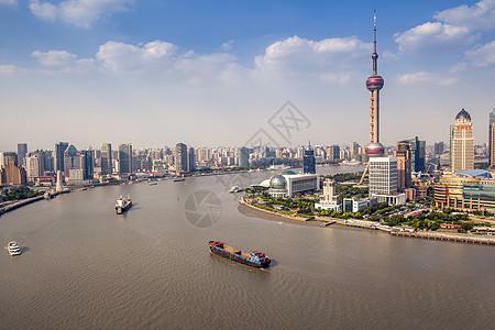 上海陆家嘴城市风光图片
