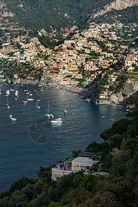 意大利地中海沿岸美丽的风光图片