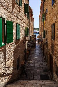 欧洲旅游小镇建筑风光图片