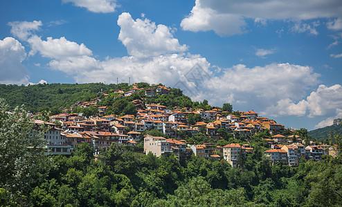 欧洲旅游小镇风光图片