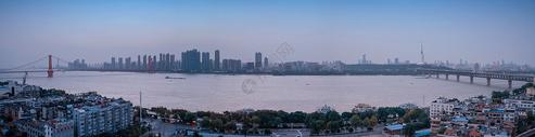武汉长江主轴全景图片