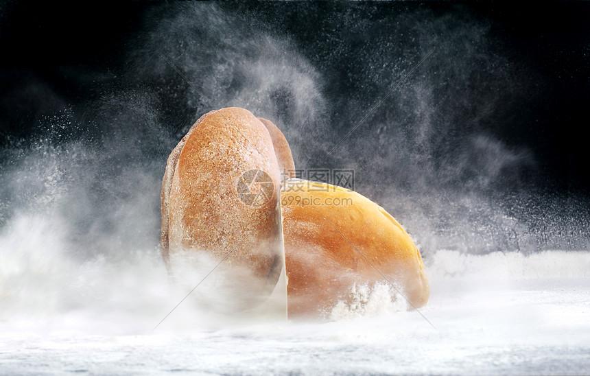 创意面包图片
