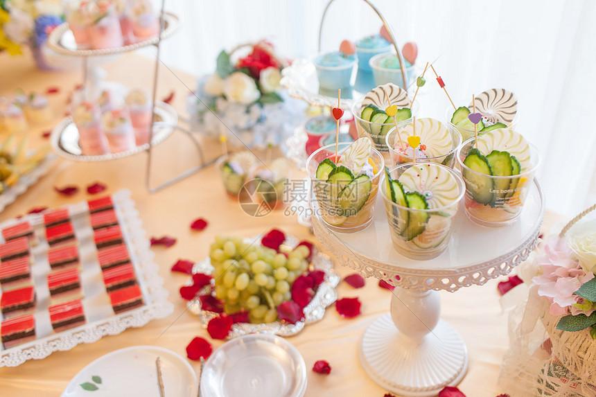 婚礼甜点图片