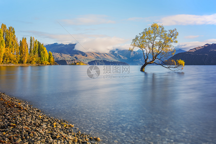 新西兰瓦纳卡湖风光图片