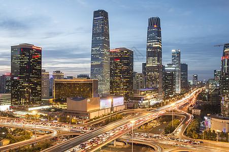 国贸cbd景色图片