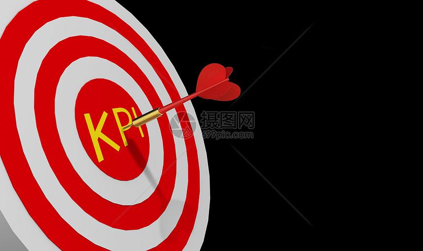 飞镖射中KPI图片