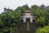 蜀南竹海龙吟寺图片