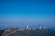 仙居顶风电场风车图片