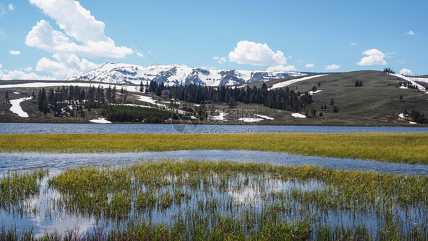 美国自然风光黄石公园图片