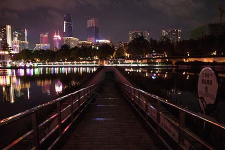 都市,夜景,建筑,路灯,灯光,夜空高清图片