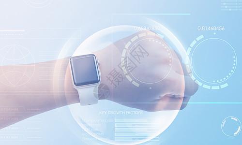 智能手表健康监测图片
