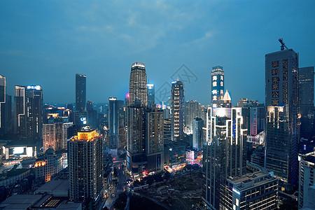 重庆渝中CBD夜景图片