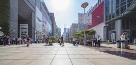 南京东路步行街图片