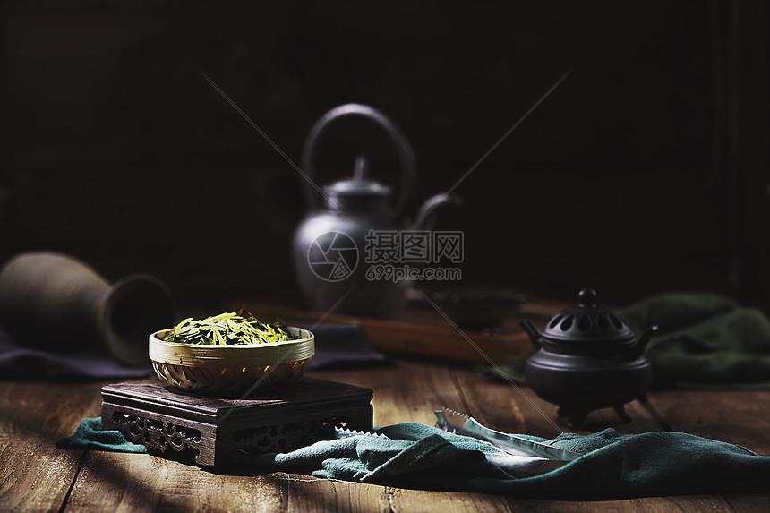 茶设计背景素材图片
