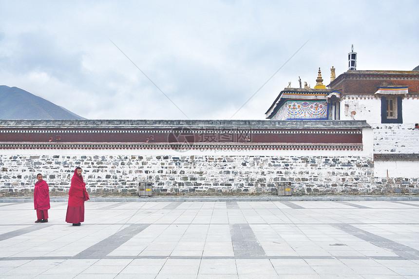 甘南拉卜楞寺喇嘛图片