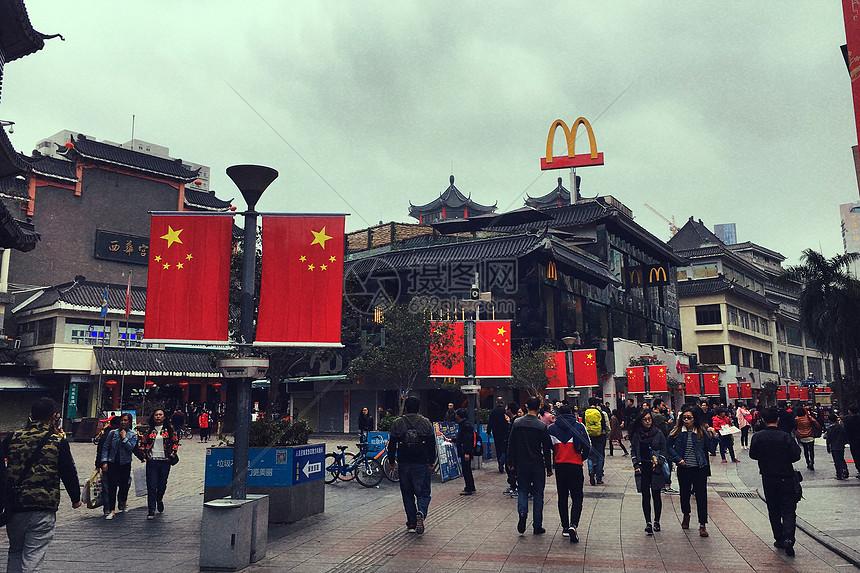 深圳东门老街图片