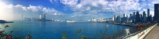 维多利亚港图片