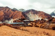 秋季稻城亚丁风光图片