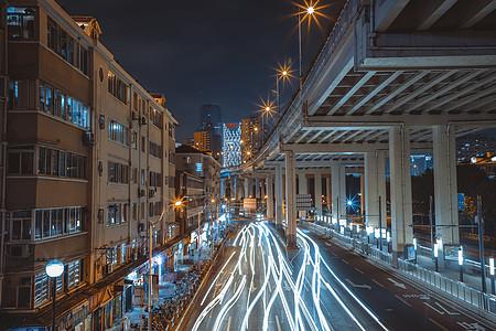 上海延安路高架图片
