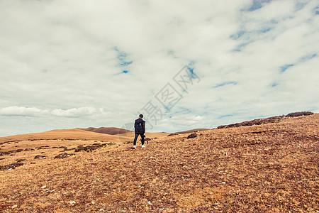 秋季的稻城 亚丁美景图片