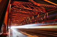 上海外白渡桥城市夜景图片