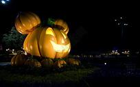 迪士尼万圣节南瓜灯图片