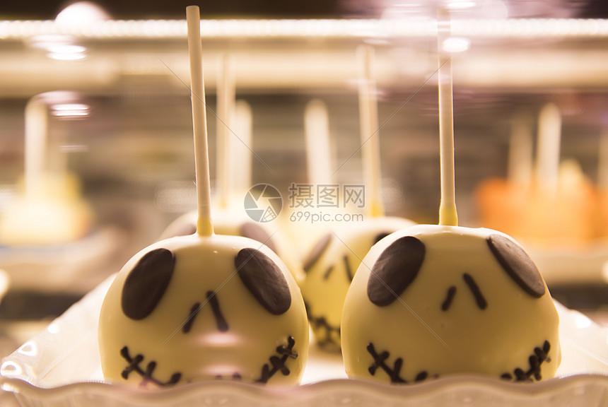 迪士尼万圣节美食糕点图片