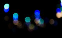 夜晚光斑图片
