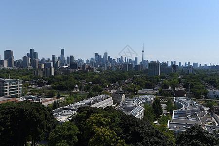 多伦多城市天际线图片