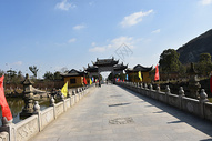 天池山徒步图片