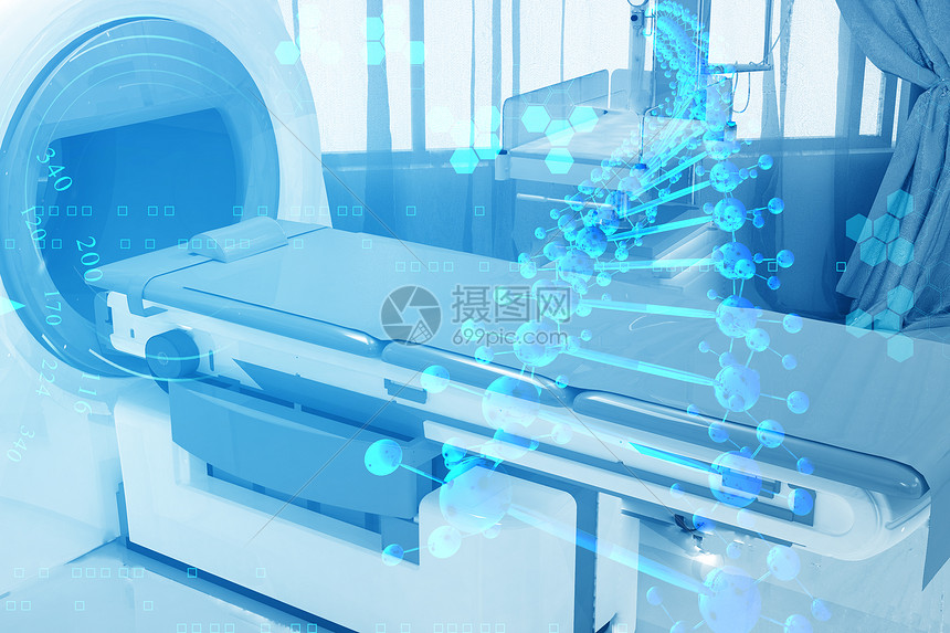 核磁共振扫描图片